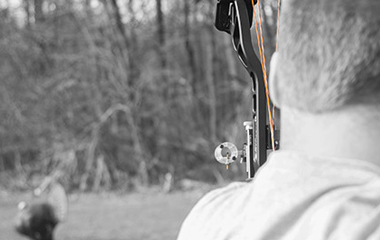 Man Shooting with His Crossbow - 3-15